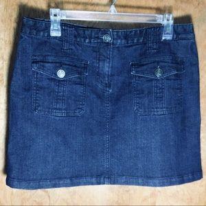 Tommy Hilfiger Jean Mini Skirt NWOT